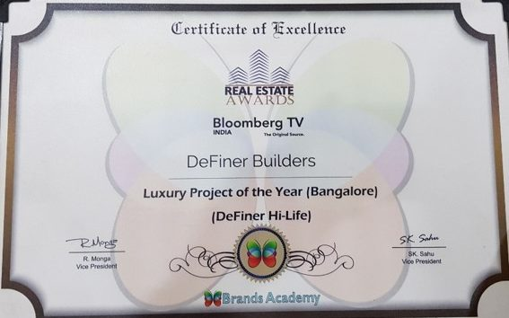 Luxury project of the year